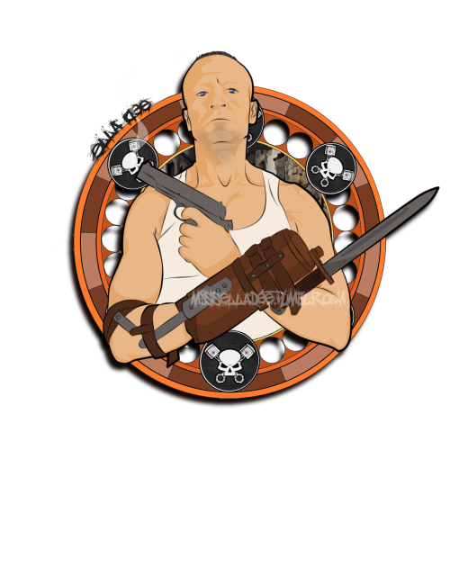 misselladee:  Merle Dixon! Based on the Entertainment weekly photo shoot. I've also done a Daryl Dixon one you can find here… http://misselladee.tumblr.com/post/30229472550/based-on-entertainment-weeklys-cover-shot-also  A colorless outline for this can be found here… http://animone.deviantart.com/art/Color-Me-Merle-323661776  ^.^ Enjoy! <3