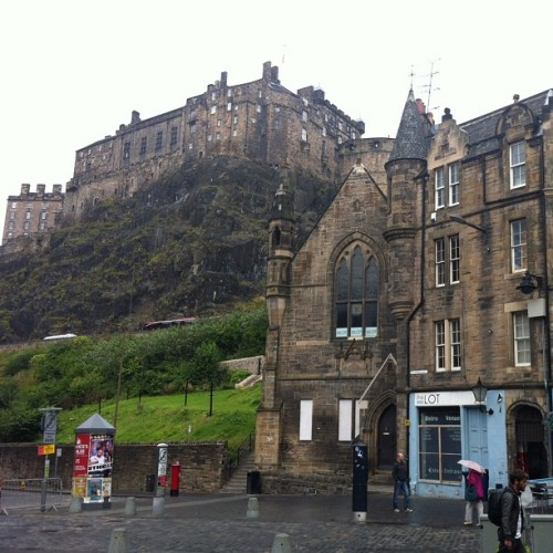Good Bye, Scotland! #edinburgh #castle (Taken with Instagram at Grassmarket)