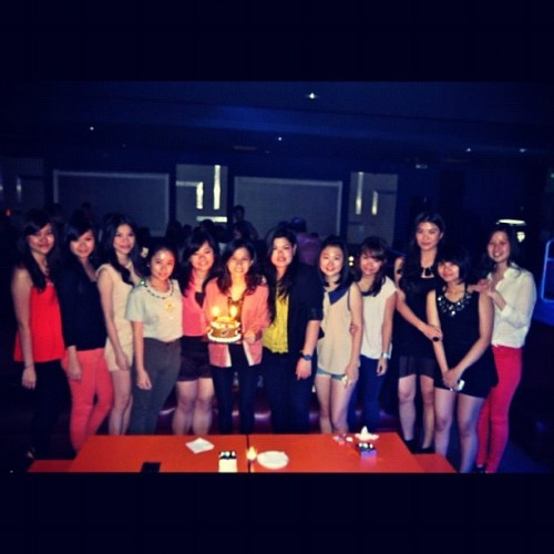 Count on ur blessing. (Taken with Instagram at Shoot : Pool Lounge | Sports Bar)