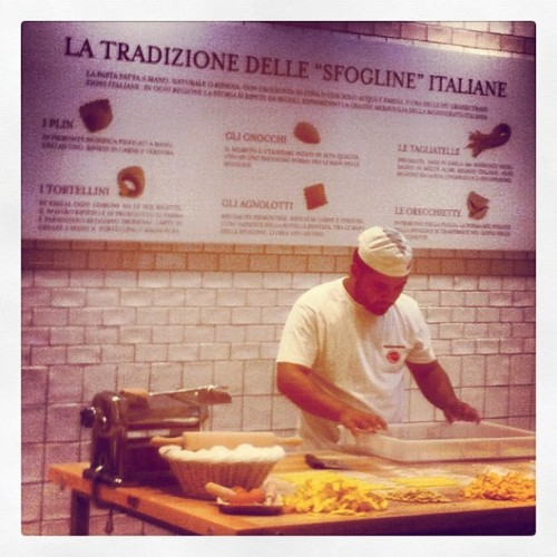 Pasta factory (Taken with Instagram)