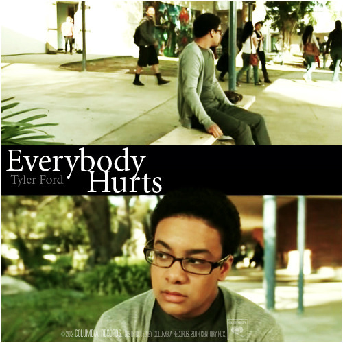 The Glee Project | Season Two Vulnerability | Everybody Hurts, Tyler Ford Alternative Cover