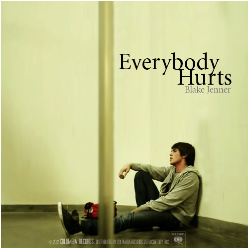 The Glee Project | Season Two Vulnerability | Everybody Hurts, Blake Jenner Alternative Cover