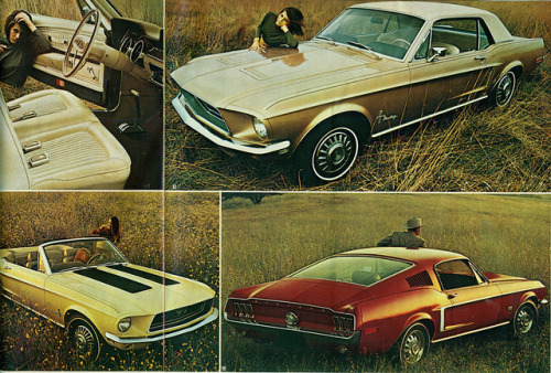 1968 Ford Mustang  Hardtop, Convertible and Fastback  by coconv on Flickr.1968 Ford Mustang Hardtop, Convertible and Fastback