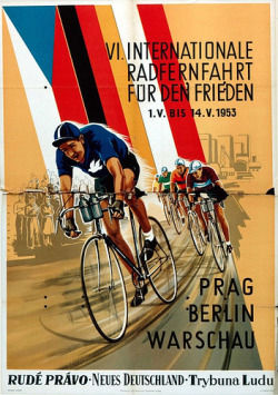cadenced:  Peace Race poster from Herbie Sykes' Twitter stream