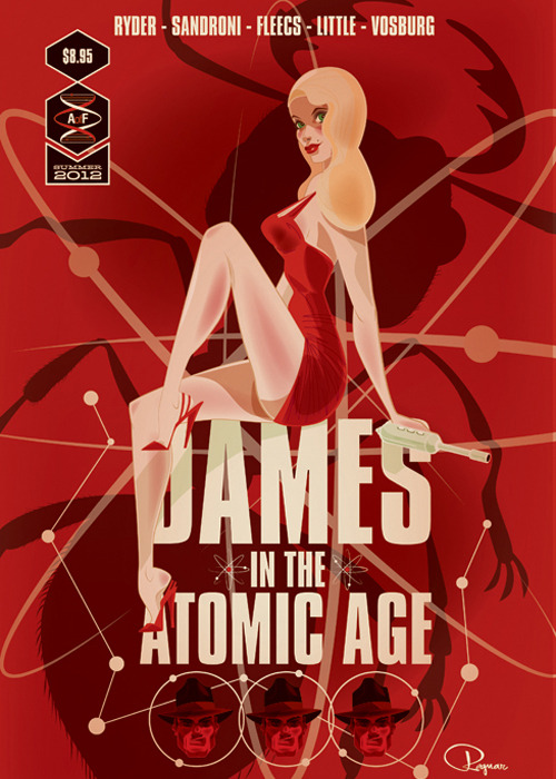 Dames of the Atomic Age by Brandon Ragnar
