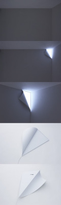 Peel-off corner lamp <3333