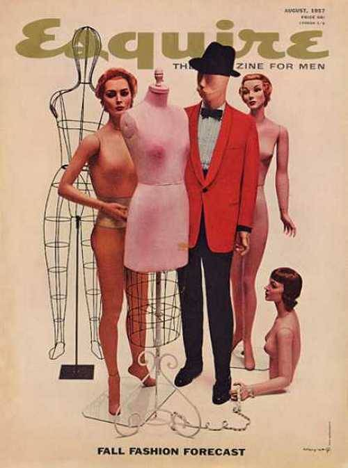 theniftyfifties:  The Fall Fashion Forecast… Esquire magazine, August 1957.