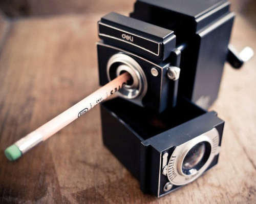 yuria:  Camera Pencil Sharpener » Design You Trust – Design Blog and Community