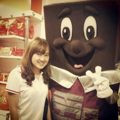 Choco man!xD (Taken with Instagram)