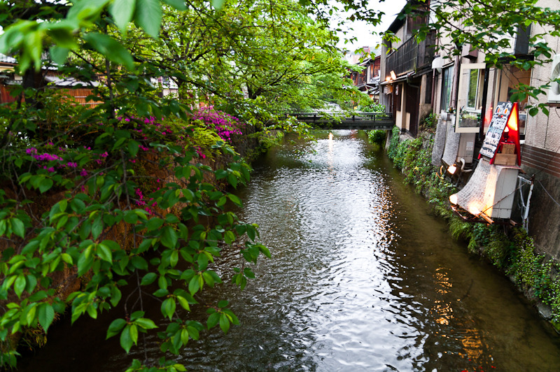 Small river through Gion