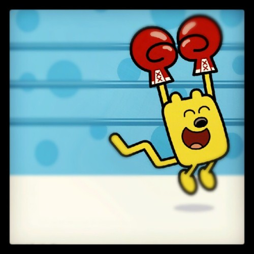 Three Cheers For Wubbzy! Have a Monday everyone! (Taken with Instagram)