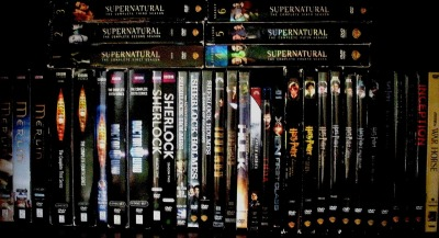 iam-sherloki-d:  actuallybatman:  This one dvd shelf is basically Tumblr