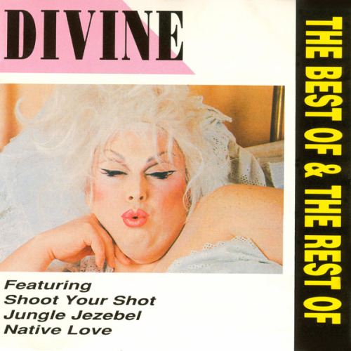 "Divine - The Best Of & The Rest Of, 1989 CD released in UK; Includes ""Native Love"", ""Shake It Up"", ""Shoot Your Shot"", ""Love Reaction"", ""Jungle Jezebel"" and ""Alphabet Rap""; also released on cassette"