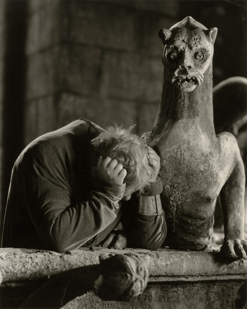 William Dieterle. Charles Laughton in The Hunchback of Notre Dame, 1939 via