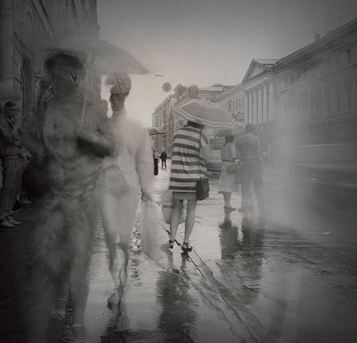 It's a rainy summer Monday.  Photo by Alexey Titarenko.