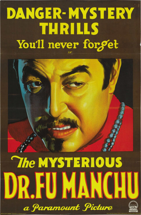 Poster for The Mysterious Dr. Fu Manchu (1929)