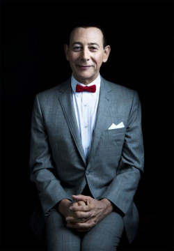 discoverynews:  He's sixty today! I don't remember ever seeing Pee-Wee Herman look like this… Such an interesting photo. Happy Birthday, Paul! monsterman:  Happy 60th Birthday to Paul Reubens today.