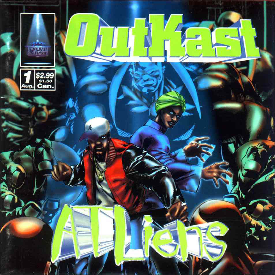 BACK IN THE DAY |8/27/96| Outkast released their second album, ATLiens, on LaFace Records.
