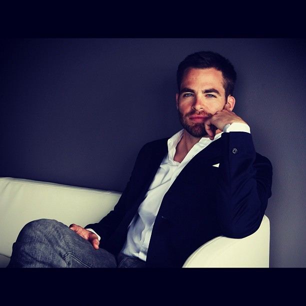 thefabulousmsm:  Man of the day: Chris Pine. Sophisticated Sexy. #manoftheday #chrispine (Taken with Instagram)