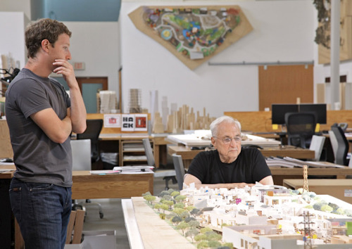 kateoplis: Frank Gehry to design new Facebook campus