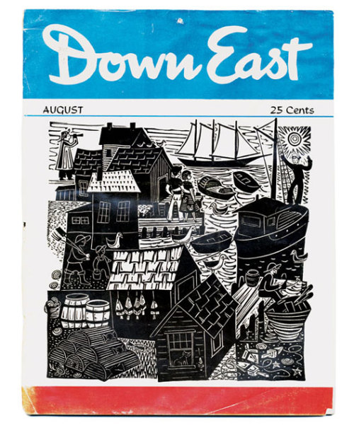 llbeansignature:  The first issue of Down East Magazine (August 1954)