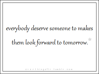 everybody deserve better