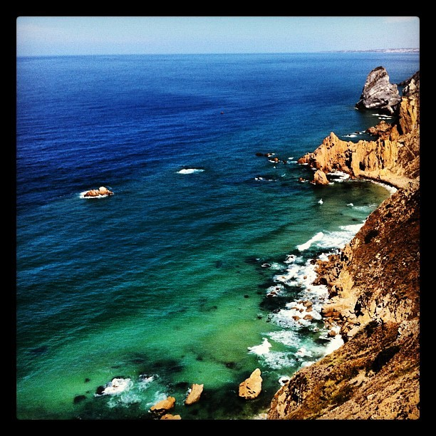 Acantilados del fin de Occidente (Cabo do Roca) (Tomada con Instagram)