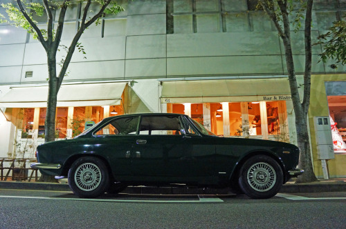 "Alfa Romeo ""Giulia"" GT1300 Junior on the street of Kobe, Japan."