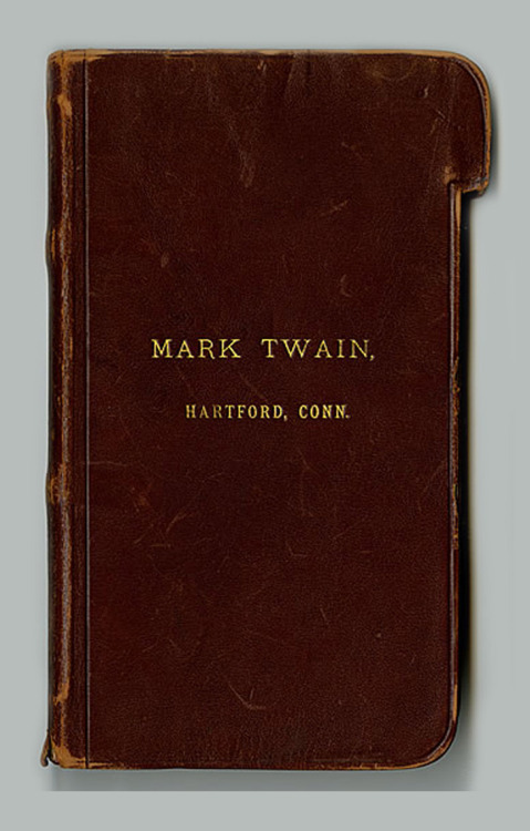 "Famous Notebooks 1. Mark Twain - ""He had his leather bound notebooks custom made according to his own design idea. Each page had a tab; once a page had been used, he would tear off its tab, allowing him to easily find the next blank page for his jottings"" 2. Charles Darwin - ""The notebooks were filled with memorandum to himself on things to look further into, questions he wanted to answer, scientific speculations, notes on the many books he was currently reading, natural observations, sketches, and lists of the books he had read and wanted to read. But the progression is far from orderly: the entries are chaotically arranged and wide-ranging; they jump from one scientific subject to the next and are interspersed with notes on correspondences and conversations. He would rest the notebook on his desk and write horizontally down the page with a pen, and, like Isaac Newton, he would sometimes start in from both ends of the notebook at once and work towards the middle. 3. Jack Kerouac - The notebook entry reads:  ""Ginsberg — intelligent enuf, interested in the outward appearance & pose of great things, intelligent enuf to know where to find them, but once there he acts like Jerry Newman, the photographer anxious to be photographed photographing —— Ginsberg wants to run his hand up the backs of people, for this he gives and seldom takes — He is also a mental screwball *(Tape recorder anxious to be tape recorded tape recording) (like Seymour Barab anxious to have his name in larger letters than Robert Louis Stevenson, like Steinberg & Verlaine Rimbaud Baudelaire"" 4. Ernest Hemingway - The notebook entry reads: ""My name is Ernest Miller Hemingway I was born on July 21, 1899 My favorite authors are Kipling, O. Henry and Steuart Edward White.  My favorite flower is lady slipper and tiger lily.  My favorite sports are trout fishing, hiking, shooting, football and boxing.  My favorite studies are English, zoology and chemistry.  I intend to travel and write."""