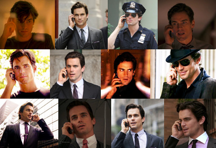 (Neal Caffrey on the phone) Me: Hi, baby! How's your day?