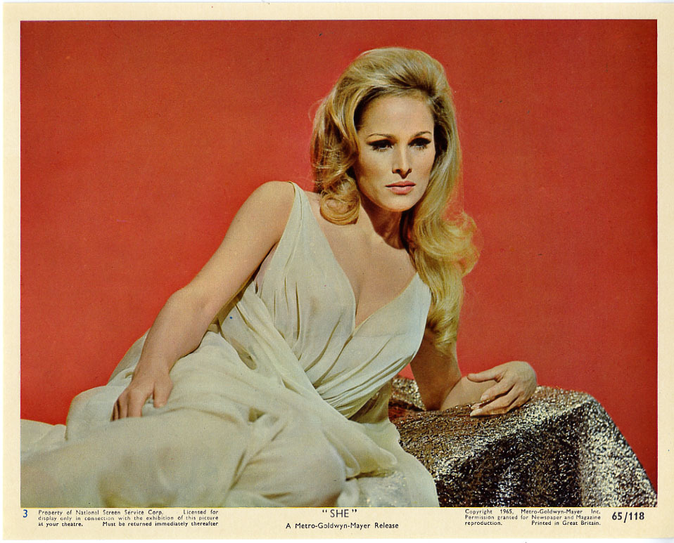 She, British lobby card. 1965