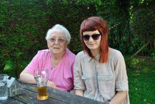 me and my small irish granny