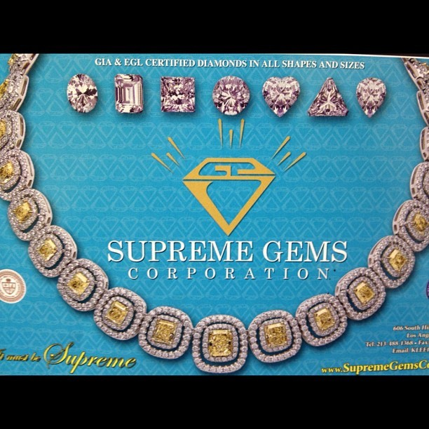 Supreme Gems at The International Gem and Jewelry Show. SHOP THE BEST SELECTION! #intergem #jewelry #gem #diamond #ice #sparkle #event #hartford #shop #show  (Taken with Instagram)
