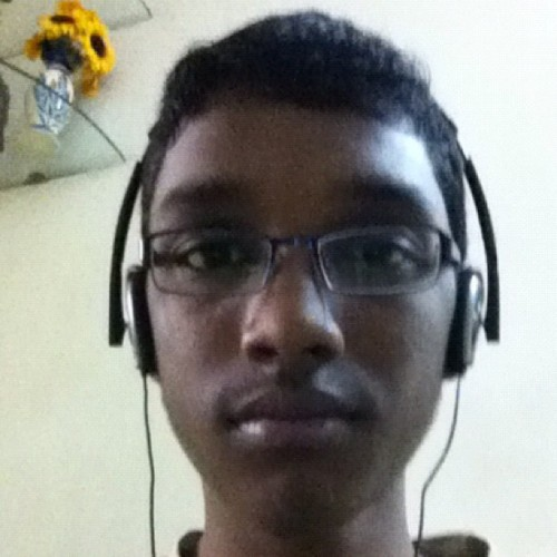 Me with my new headphones!!! (Taken with Instagram at Shiv Shraddha CHS)