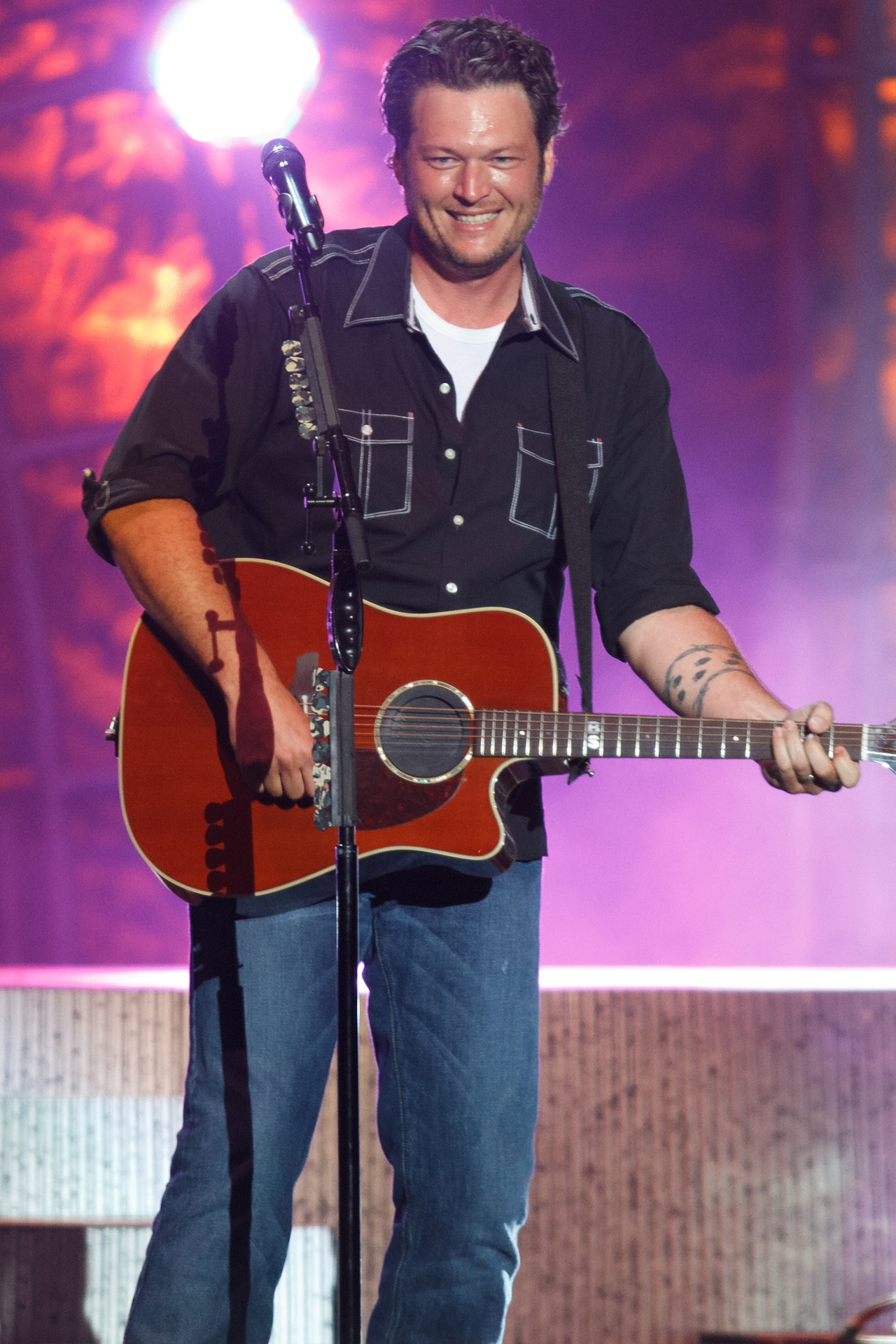 Blake Shelton at the Minnesota State Fair.