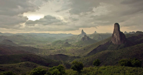"says-lets-build-a-home:  Kyle Mijlof ""The View From Rhumsiki"" Cameroon"