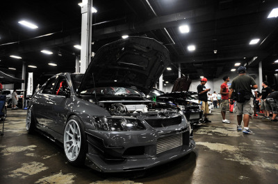 gdbracer:  Wekfest East Bruno's Evo, AMS Autowerks by Adrian Zielinski on Flickr.  i cant beleive i worked through wekfest east. fml #facepalm