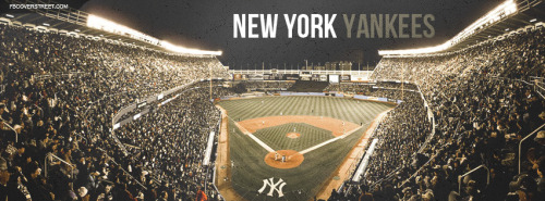 New York Yankees Stadium Crowd Facebook Cover