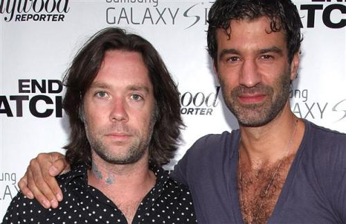 Rufus Wainwright & Jorn Weisbrodt married August 2012 in Montauk, NY.