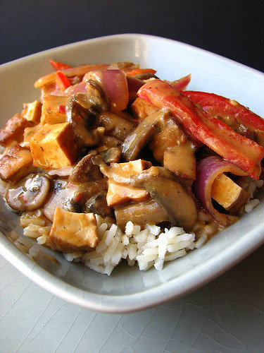 Thai Coconut Curry Stir-fry