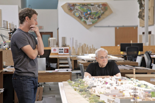 laughingsquid:  Frank Gehry Designs New Facebook Campus in Menlo Park  Frank Gehry diseña el nuevo campus de Facebook