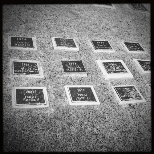 Almost time… @floridastate #GoNoles Helga Viking Lens, BlacKeys SuperGrain Film, No Flash, Taken with Hipstamatic