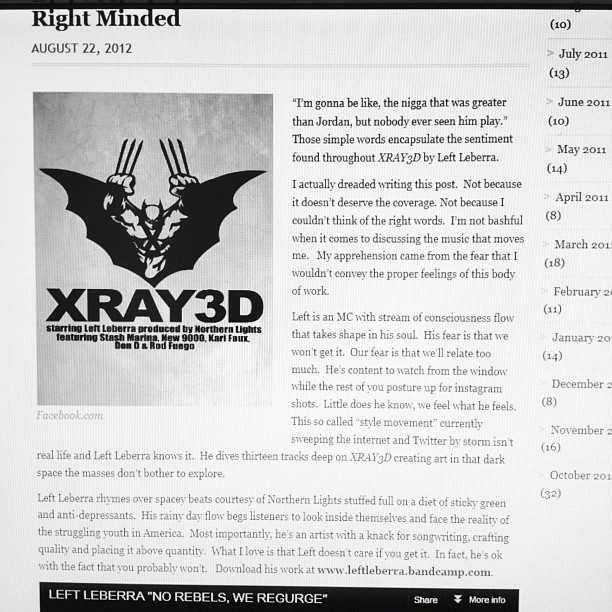 Left Leberra x Northern Lights #XRAY3D article via Shinyglasshouses.com #LightsVision (Taken with Instagram)