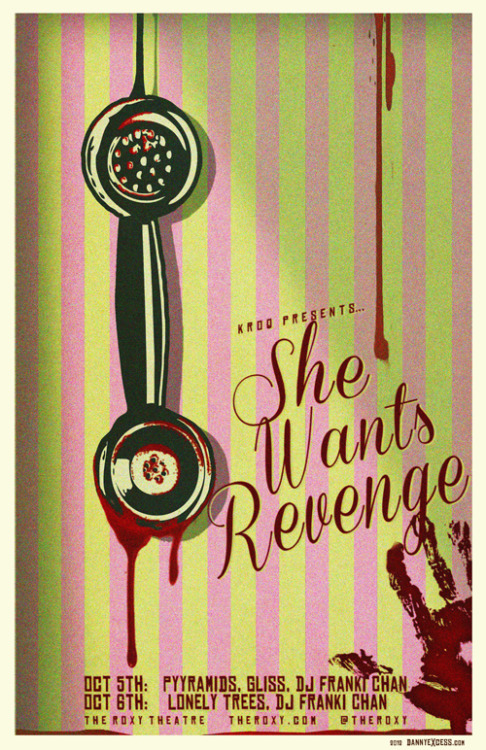 She Wants Revenge final Los Angeles shows - October 5 & 6.