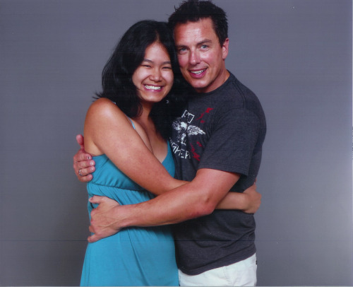 davidsteninch:  John and I at FanExpo 2012! The best day of my life so far!