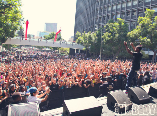 nobodys:  Casey Veggies at MAD DECENT BLOCK PARTY 2012!!     Tumbled with TumTum ♻