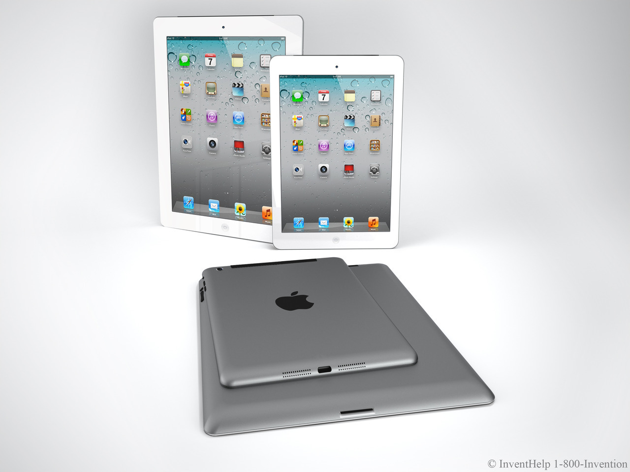 parislemon:  tuaw:  Nickolay Lamm created and sent us this nice iPad mini render. Pretty good-looking.  Another day, more iPad porn.   More iPad porn