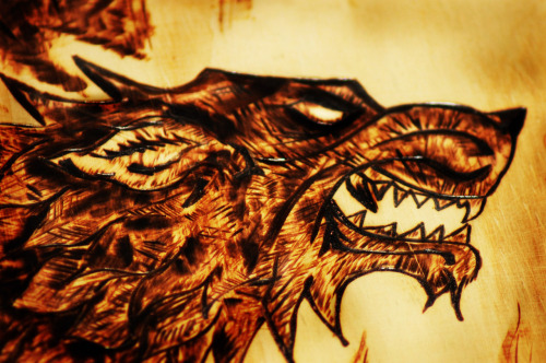 norsemanarts:  WOLF - Wood Burning by Norseman Arts.  My Facebook