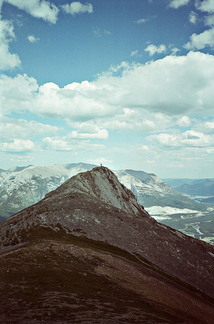 Nic on the ridge by inhale kilz on Flickr.