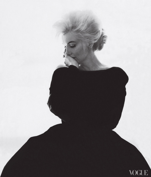 vogue:  Marilyn Monroe in Christian Dior Haute Couture, photographed by Bert Stern, Vogue, 1962Agents Provocateurs: A Look at Vogue's New Book The Editor's EyeSee the slideshow